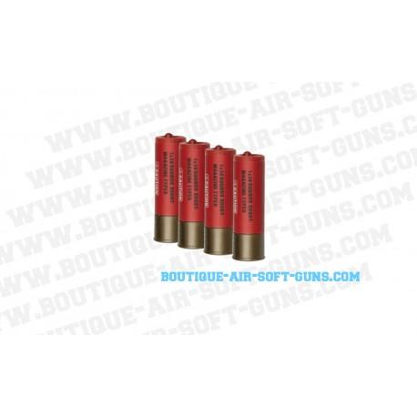 4 cartouches 30 coups pour fusil à pompe Franchi SPAS-12