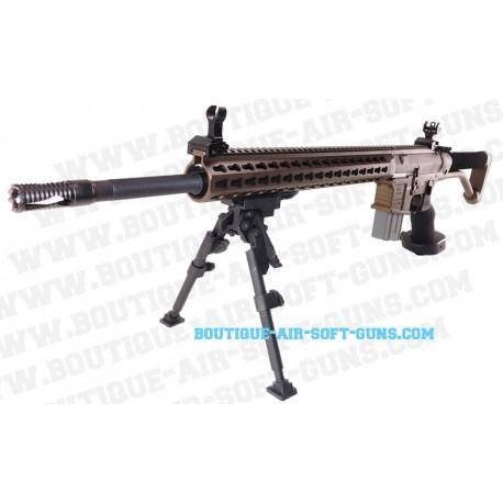 Fusil sniper airsoft Classic Army Dark Gold keymod AEG 1.1 Joule - calibre 6mm bbs