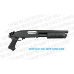 Fusil à pompe réplique airsoft spring M870 Breacher Classic Army - 6mm bbs