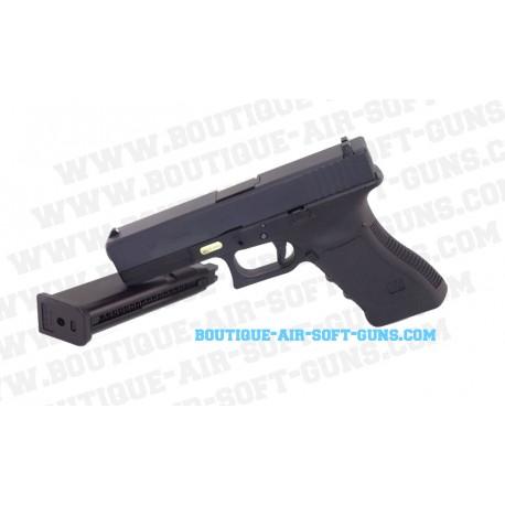 Réplique airsoft GBB pistolet WE G17 gen 3 0.9 joule