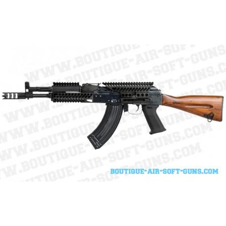 Kalashnikov airsoft AK-74N tactical mod crosse bois AEG - calibre 6mm 1.38J