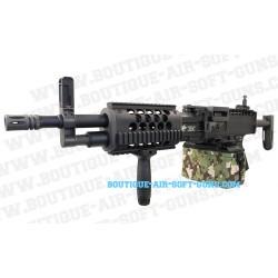 Réplique airsoft fusil mitrailleur AEG Stoner LMG Classic army 5000 billes - cal 6mm