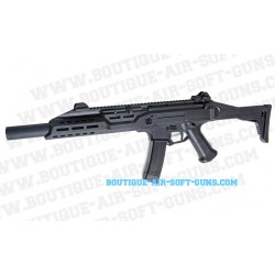 Fusil AEG CZ Scorpion EVO 3 A1 BET silencieux - calibre 6mm