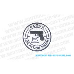 Ecusson patch airsoft pour gilet Glock Safe Action Pistol