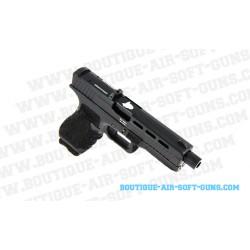 Pistolet airsoft CO2 Gladius 17 Secutor noir - 1 joule