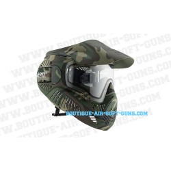 Masque intégrale annex Valken MI-7 Woodland camo vitre thermale