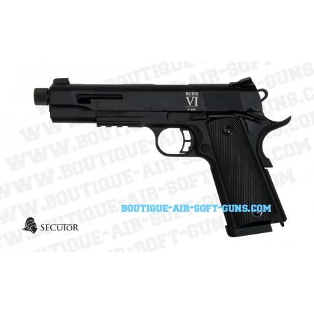 Réplique airsoft Co2 Secutor Rudis VI Negra - calibre 6mm