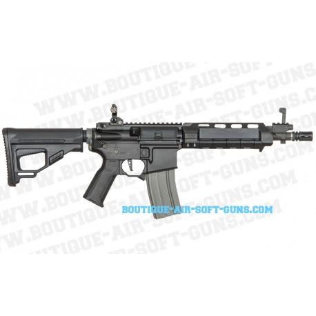 Fusil d'assaut airsoft AEG compact ARES M4-AA noir - calibre 6mm 1J