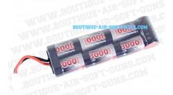 Batterie 8.4 V / 3000 mAh - type large