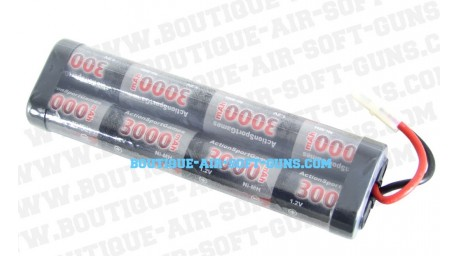 Batterie 9.6 V / 3000 mAh - type large