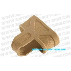 Attache-Chargeur Airsoft M4/M16 - tan