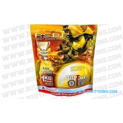 Sachet de 4000 billes perfect top five de 0.25 g