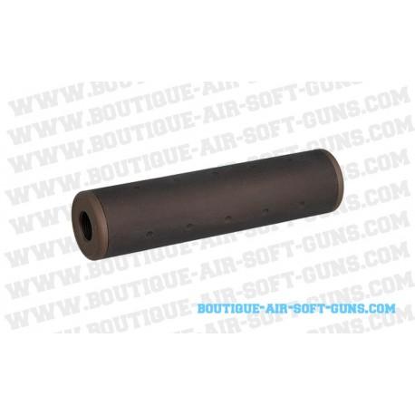 silencieux M6 130 x 32 mm brun  pour AEG 14 mm