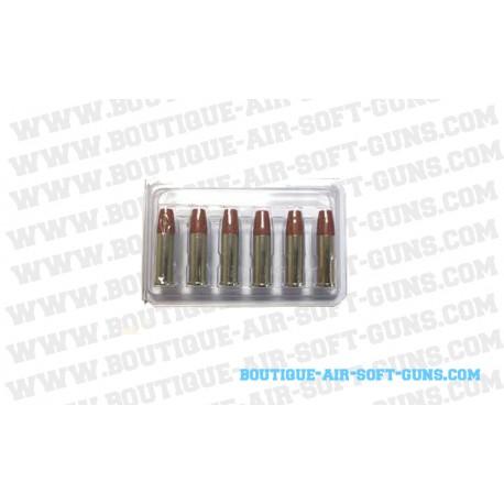 Douilles (x6) pour Colt Python CO2 (6mm)