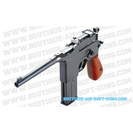Réplique en métal du Mauser C96 Airsoft CO2 full auto
