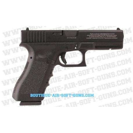 Pistolet Glock 17 airsoft Inokatsu avec chargeur CO2 et Gaz