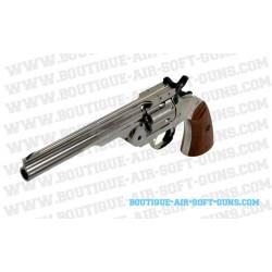 Revolver 1877 Major 3 Silver Gun Heaven Airsoft