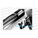 Pistolet Desert Eagle Hard Kick Chrome Stainless Tokyo Marui