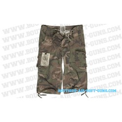 Bermuda long militaire camo air combat