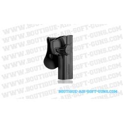 Holster de ceinture M92 polymère droitier