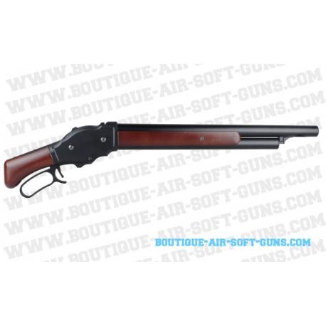 Réplique Winchester M1887 propusion Gaz en crosse bois