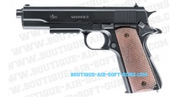 Warrior II (Colt 1911) avec rail 22 mm - airsoft spring noir