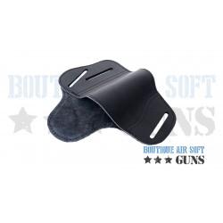 Holster en cuir pour de nombreuses arme glock, Sig, Beretta