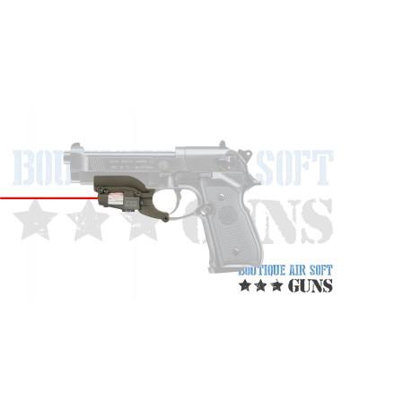 Laser et rail de montage pour beretta 92 et M9
