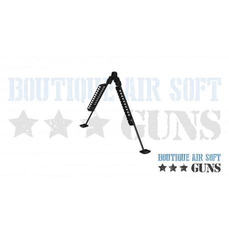 Bipied en métal noir pour Sniper Barett M82