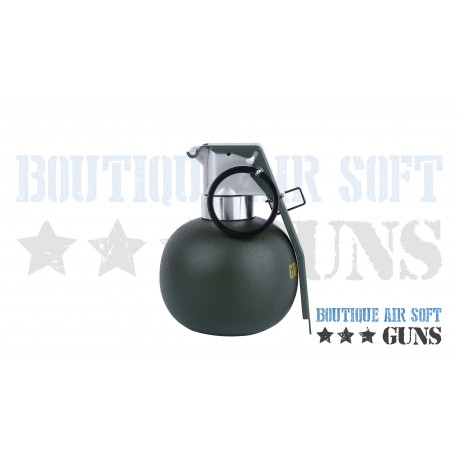 Grenade M67 factice de décoration - 9 cm