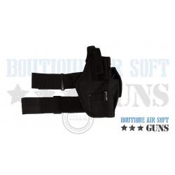 Holster de cuisse droitier pour pistolet et revolver airsoft