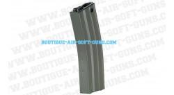 Chargeur seul Hi-Cap 450 billes pour arme airsoft AEG adaptable GR16 (m4)