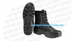 Bottes de sécurité Noires - Chaussures avec zip - Taille 41-42