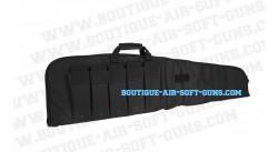 Housse souple 140 cm de transport noire pour arme longue