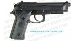 Beretta 92 Brigadier A1 noir Réplique Gaz GNB 6mm
