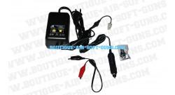 Chargeur électrique adaptable - 500 à 1000mAh