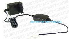 Chargeur avec voyant indicateur LED - batterie type mini