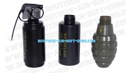 3 Grenades sonores