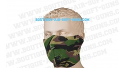 Bas de masque néoprène camo