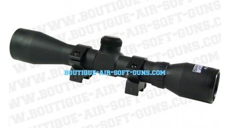 Lunette de visée 4x32  Swiss arms- Montage 22 mm