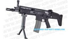 FN Herstal Scar CQC Noir Cyber-Gun AEG électrique