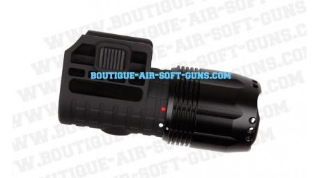 Lampe à LED rotative flashlight 3W waterproof