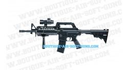 Colt M4 RIS commando Spring + Accessoires