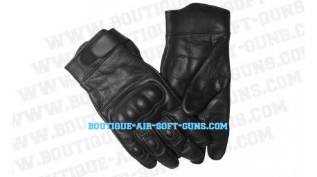 Paire de gants noir coqué - Miltec - Taille M