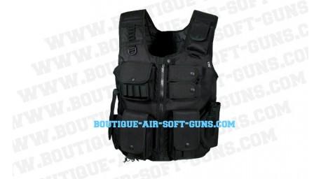 Gilet Tactique avec holster Noir - UTG