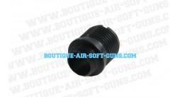 Adaptateur silencieux 14 mm négatif (antihoraire) pour Hi-Capa