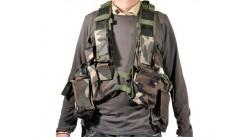 Gilet Sud Africain avec poche sac à dos