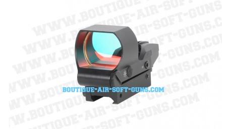 Visée reflexe - point rouge compacte - multi-mire